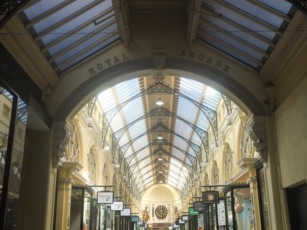 Australias Beautiful Shopping Arcades   The Down Under Series   The Royal Arcade Glass Ceiling   jumpseatjenny   Melbourne, NSW.jpg