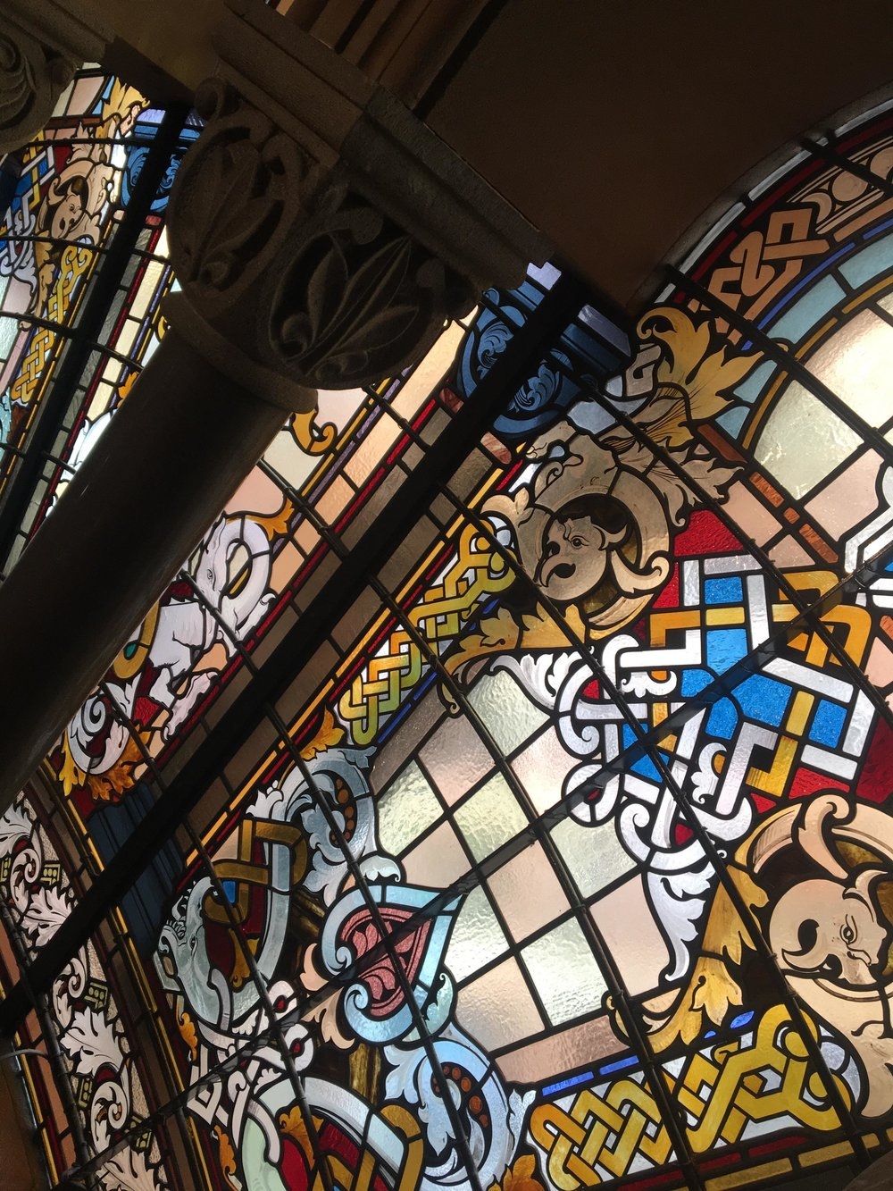 Australias Beautiful Shopping Arcades   The Down Under Series   The Strand Stained Glass Close   jumpseatjenny   Sydney, NSW