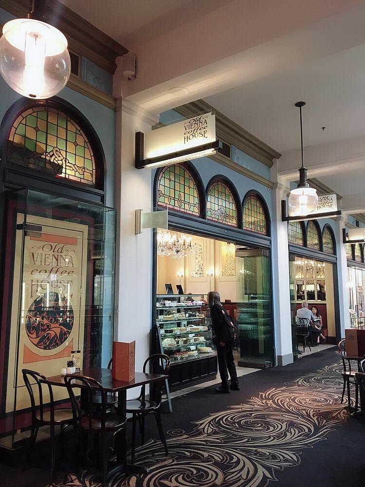 Australias Beautiful Shopping Arcades   The Down Under Series   The Strand Vienna Coffee House   jumpseatjenny   Sydney, NSW