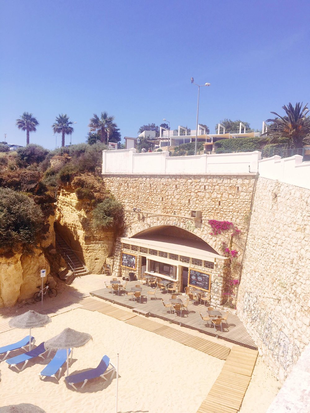 Vamos a Lagos | Hidden Beach Restaurant | jumpseatjenny | Lagos Portugal