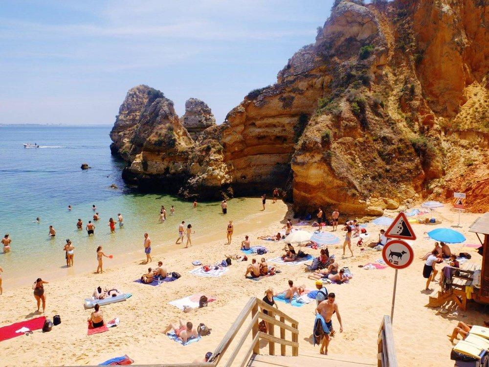 Vamos a Lagos | Praia Dos Estudiantes | jumpseatjenny | Lagos Portugal.jpg