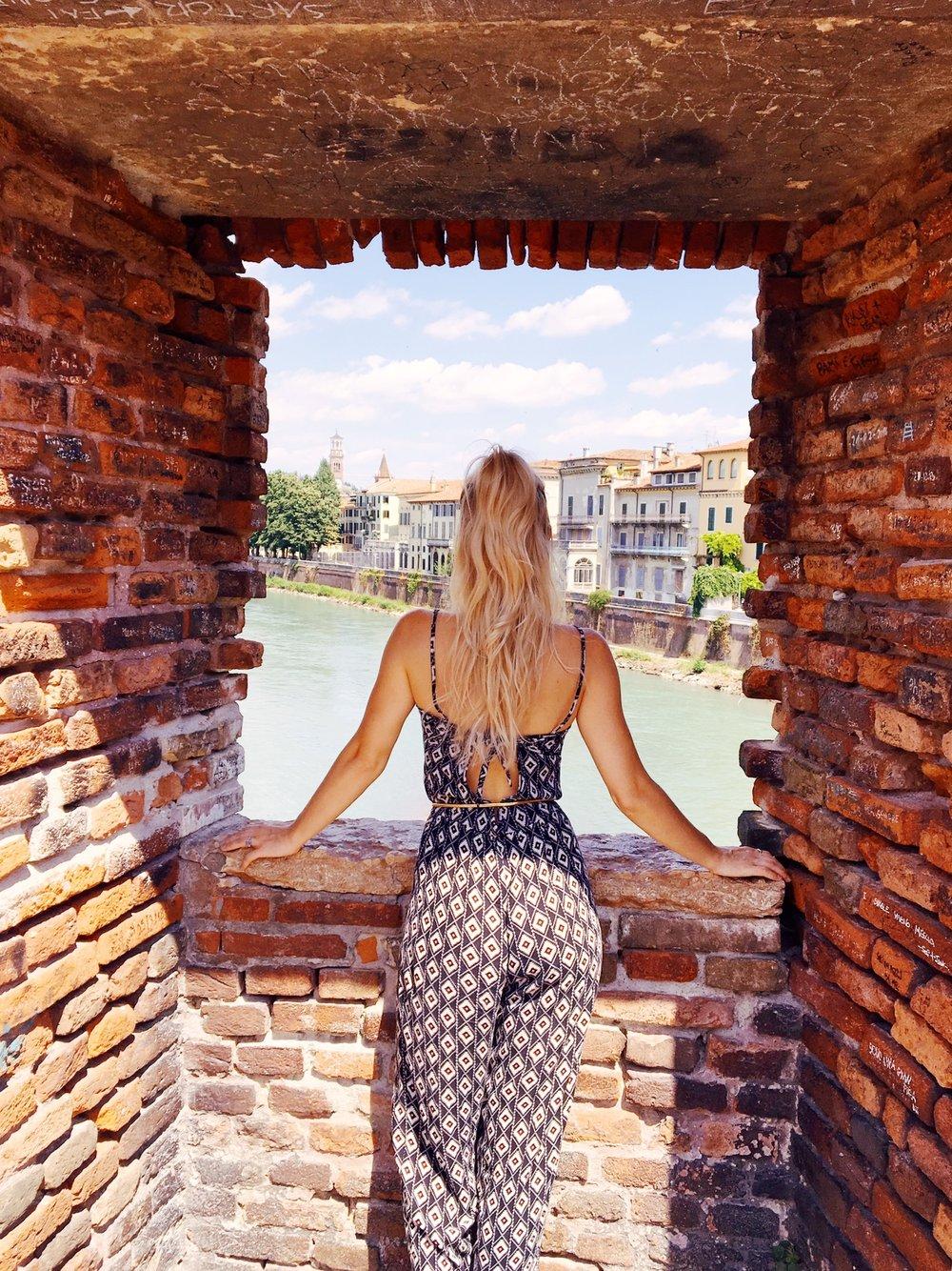 Visiting Verona | View From Castelvecchio Bridge | jumpseatjenny | Verona Italy.jpg