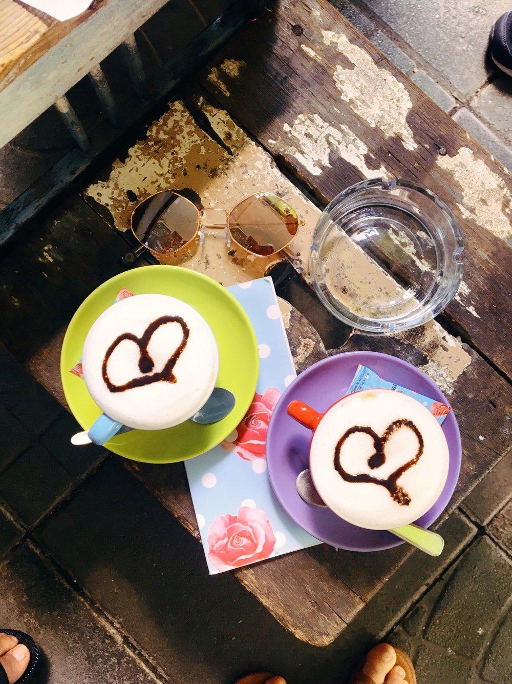 Caffe Bar Finjak | Latte | jumpseatjenny | Zagreb Croatia.jpg