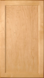 Mellowood-Maple for those who want a natural finish flat panel door style (hardware not included).