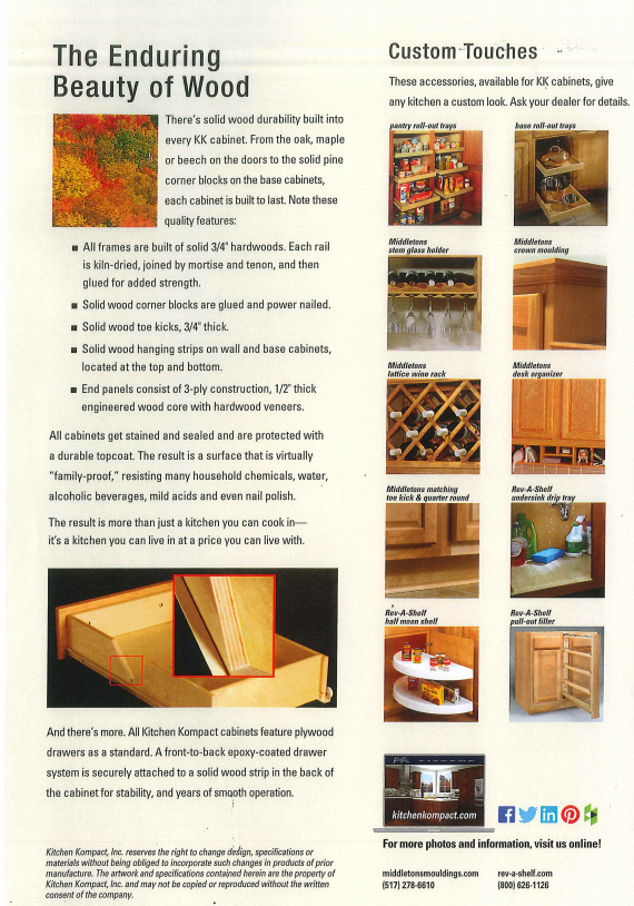 Nationwide family-owned manufacturer of Kitchen & Bath cabinetry since 1937 -