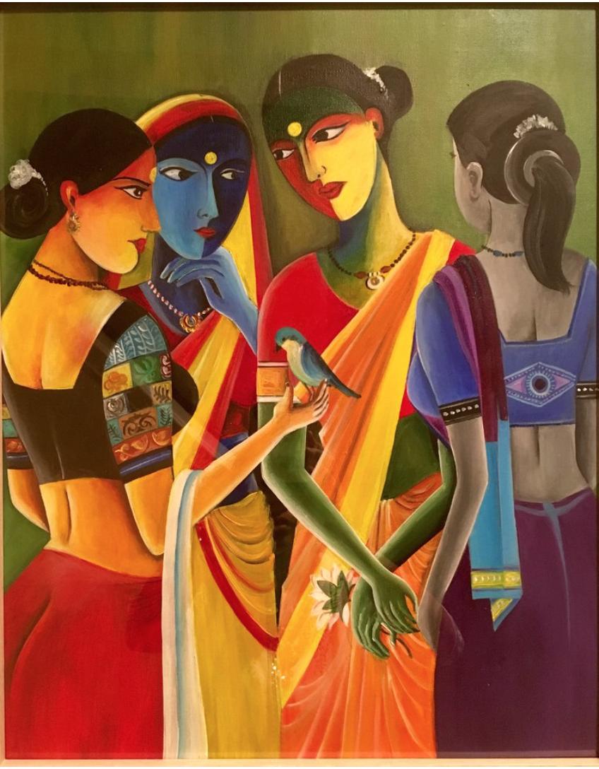 Madhu painting