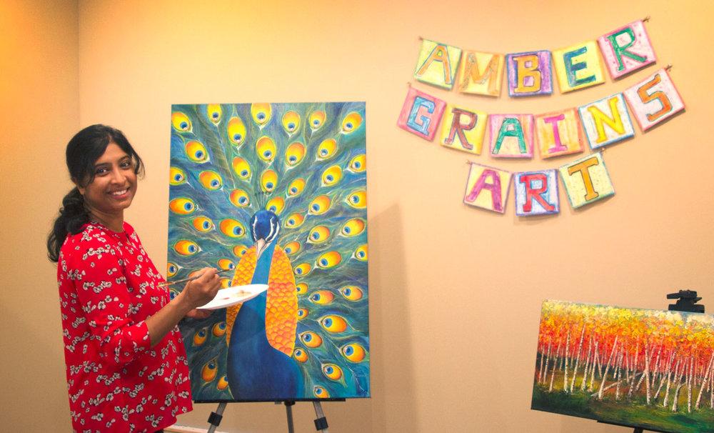 Amber Grains Art Studio