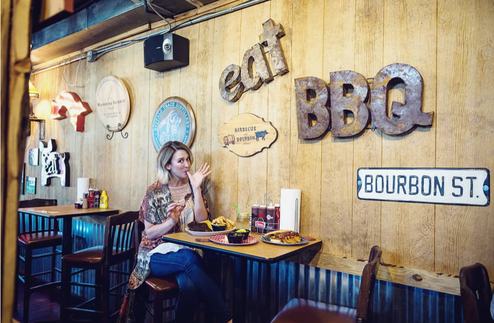 Amy Beers at Barbecue and Bourbon