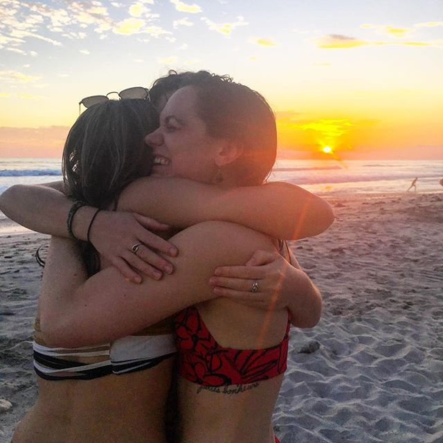 No words necessary, just love.....💕💕💕💕💕💕 check the link in our bio for more info about upcoming opportunities for YOU to join one of our yoga adventures! #yogateachertraining #yogalife #awakening #higherconsciousness #higherself #beachyoga #yogafamily