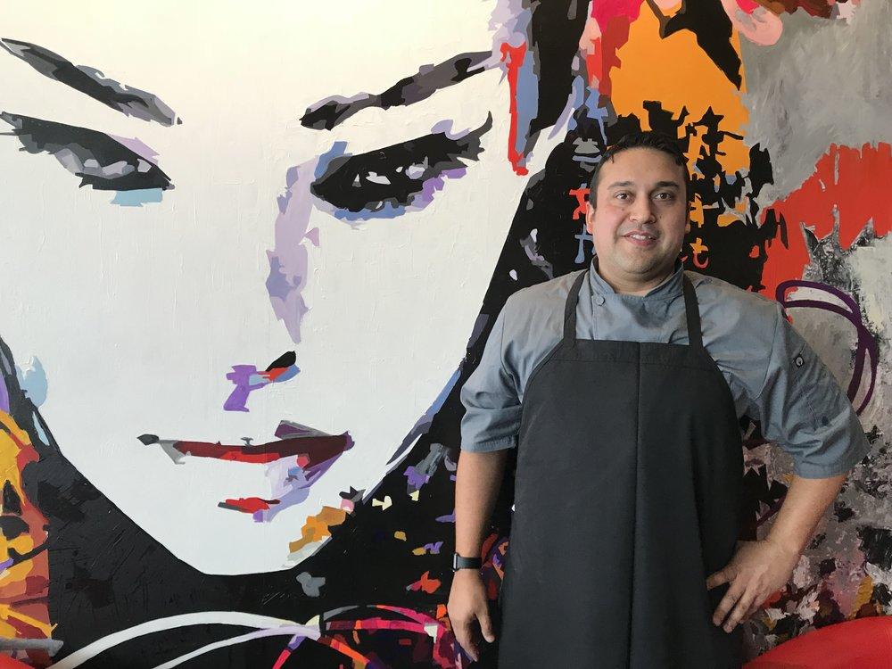 Chef Edixon Hernández