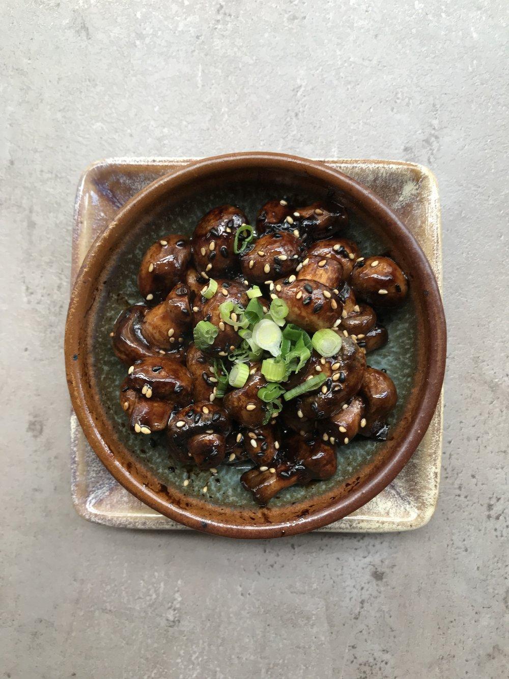 Glazed Mushrooms