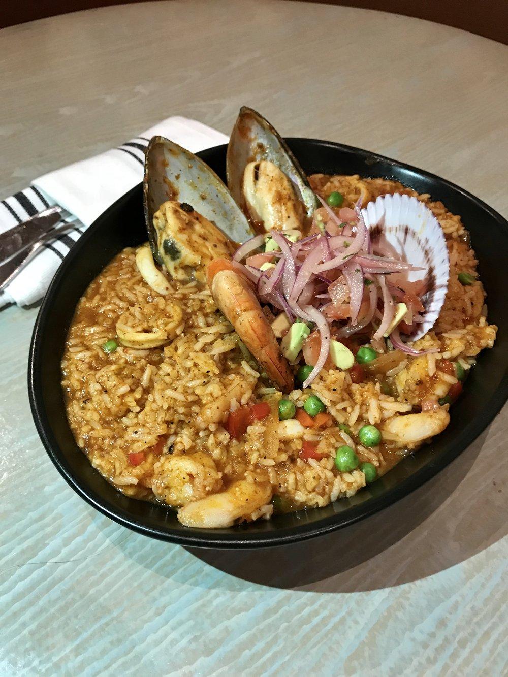Rice & Shellfish