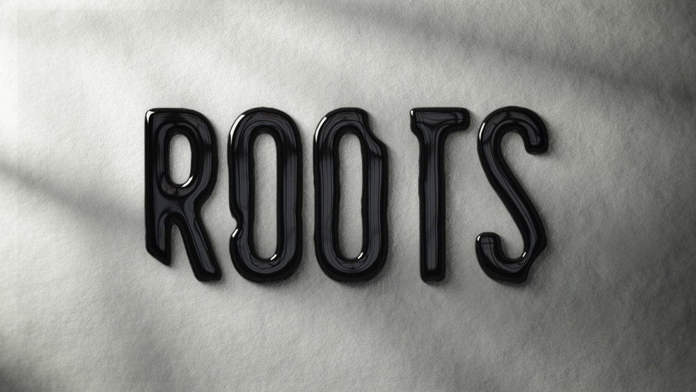 """Roots"" logo development – Liquid Ink."