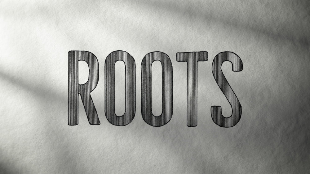 """Roots"" logo development – Line Illustration."