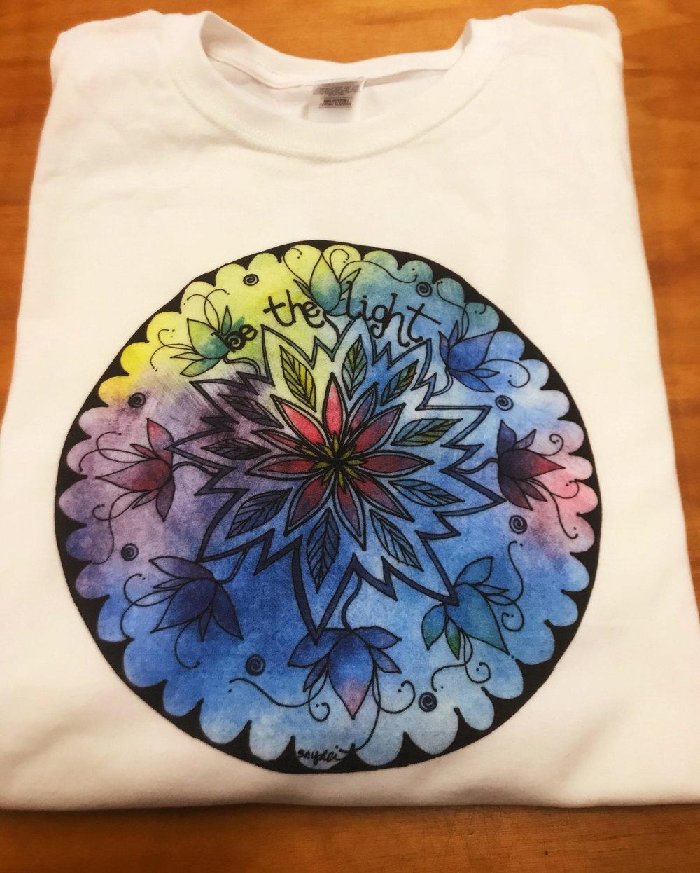An example of a full color digital print. Artwork by Sherri Snyder (www.InspiredbyStillness.com)
