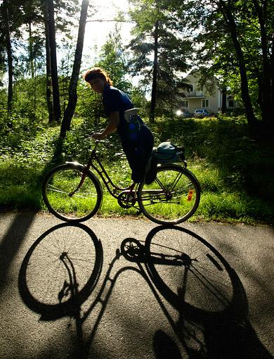 ©Josefine Surin, Släng upp benen och cykla iväg