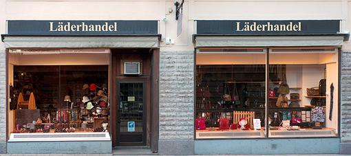 ©Conny Andersson, Läderhandel
