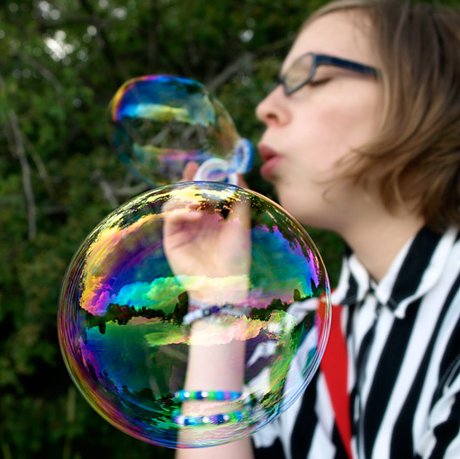 ©Kerstin Andersson, Josefine bubblar