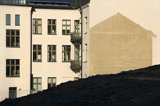 @ Stefan Thyberg, Bygge mitt i stan