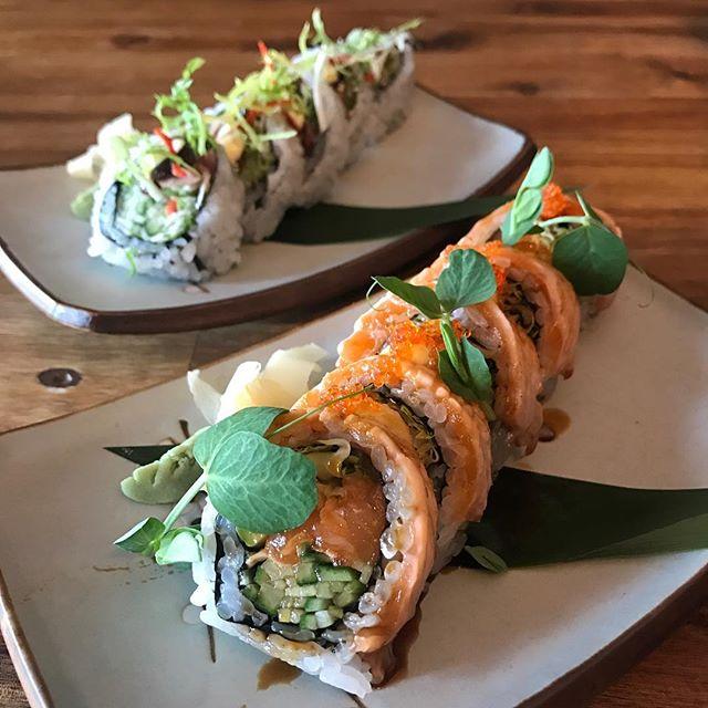 2 Maki Specials Today. Seared Salmon and Hoi Sin Duck #maki #sushi #londonrestaurants #southbank #waterloo