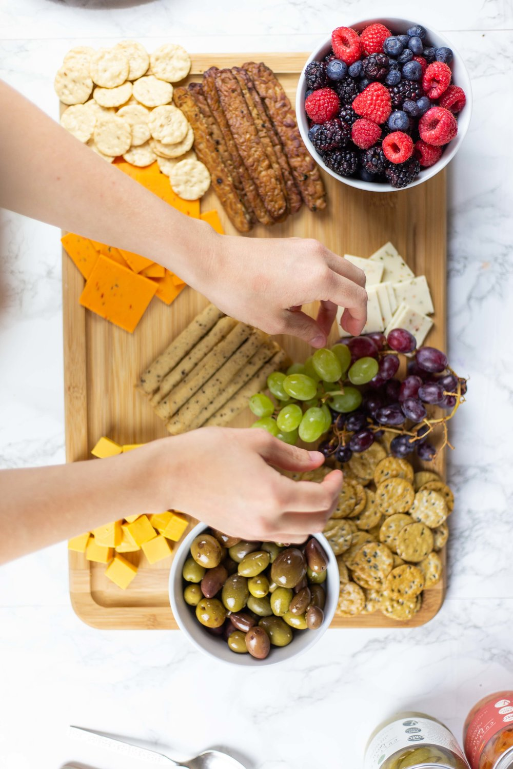 The Ultimate Vegan Snack Board | How To Make a Vegan Cheese Board | Vegan Charcuterie Board