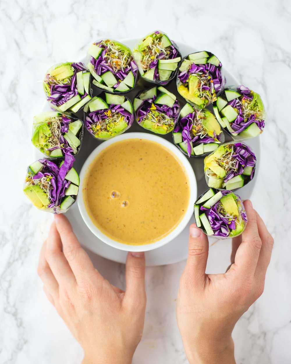 15 ways to use fermented vegetable brine | summer roll dipping sauce