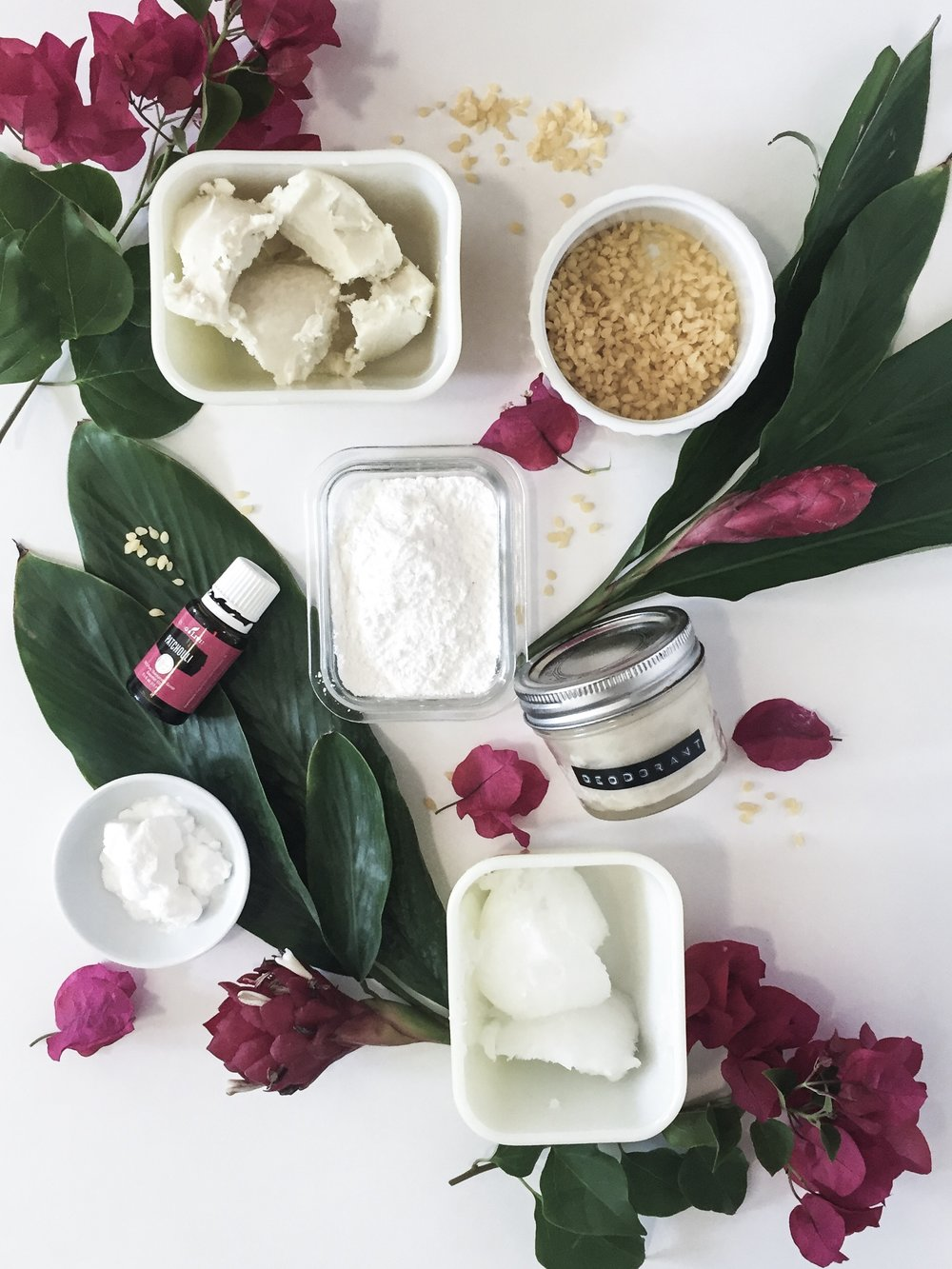 All Natural Patchouli Deodorant -