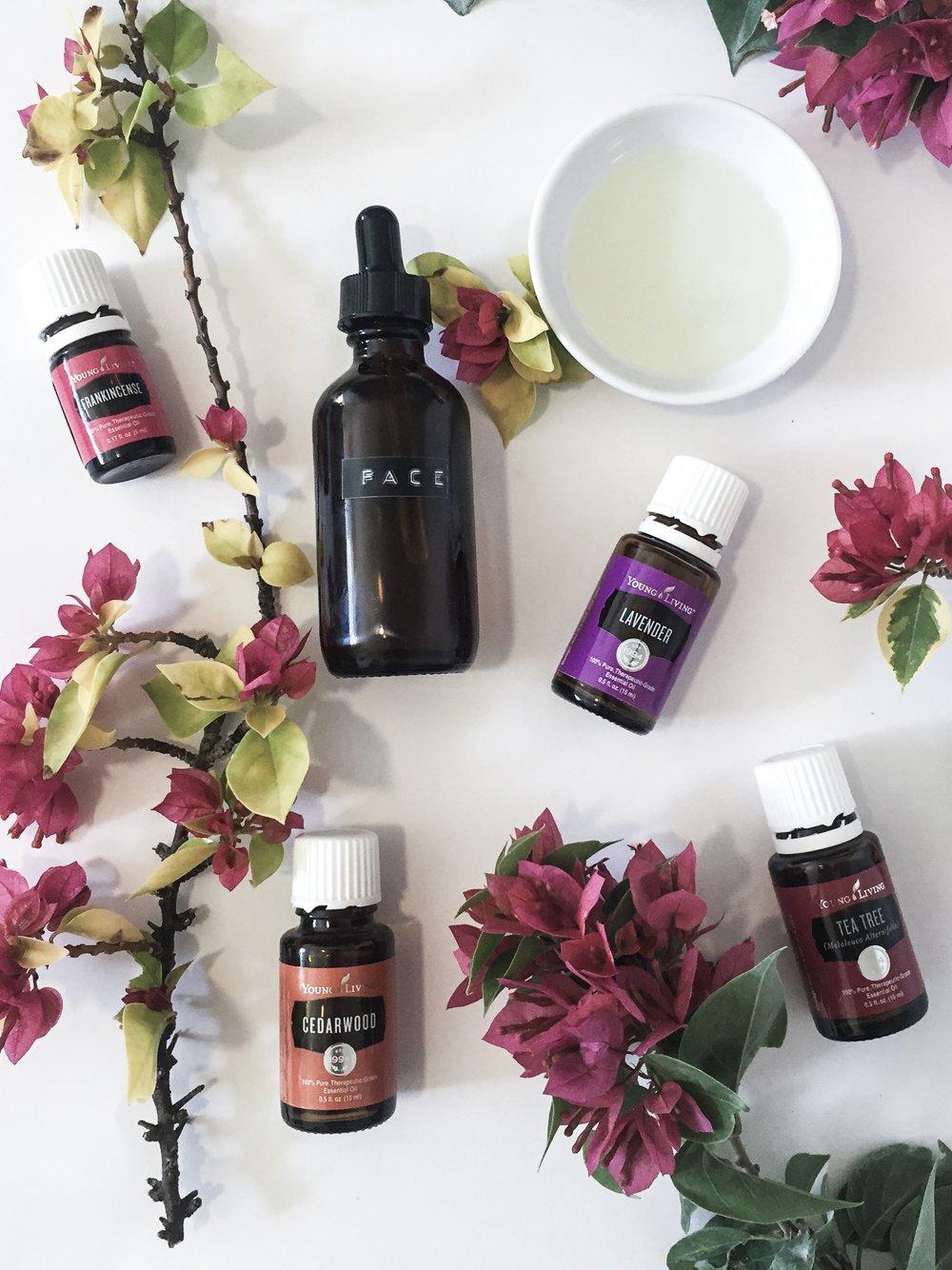 anti-aging face oil