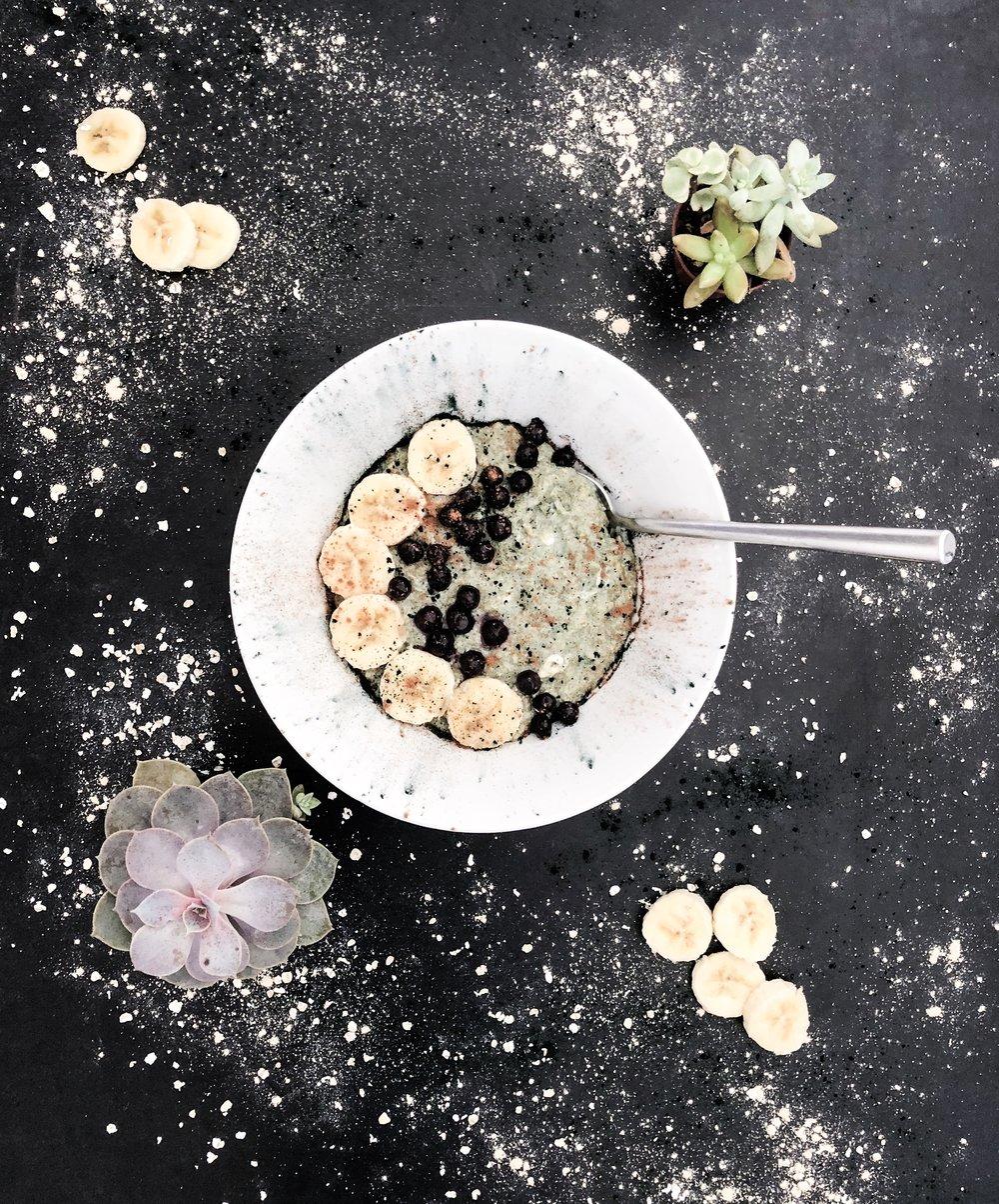 superfood adaptogenic cauliflower oatmeal