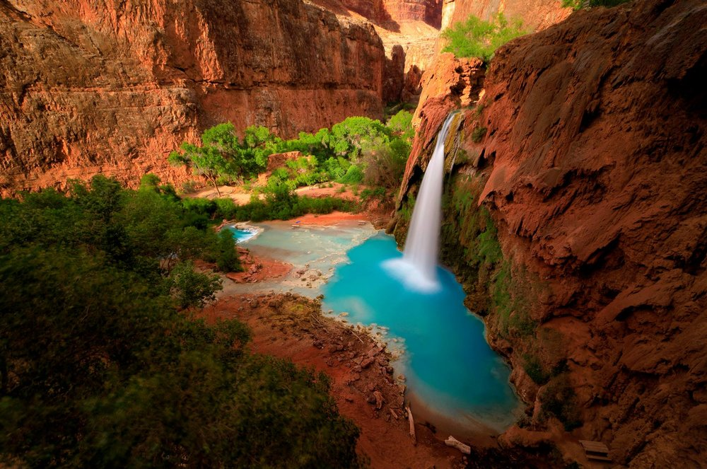 THE Havasupai iconic photo by the one and only  Nate Polta