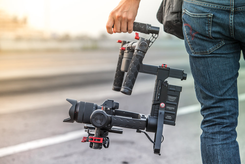 Video Production - Here you can give us the 'ole college try at film production. We have cameras, drones, stabilizers, tripods, gimbles, sliders, gopros, and much, much more.