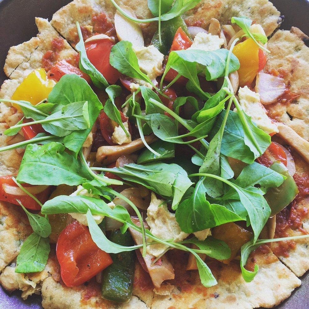 Gluten-Free Veggie Pizza— Blue Lotus Hua Hin