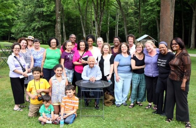 Nikki Giovanni visits us at The Mount with Lift Ev'ry Voice