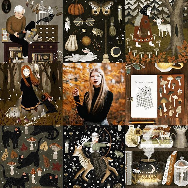 Here's my #artvsartist2019 🍂🕯🌜it's been a fantastic year of art!