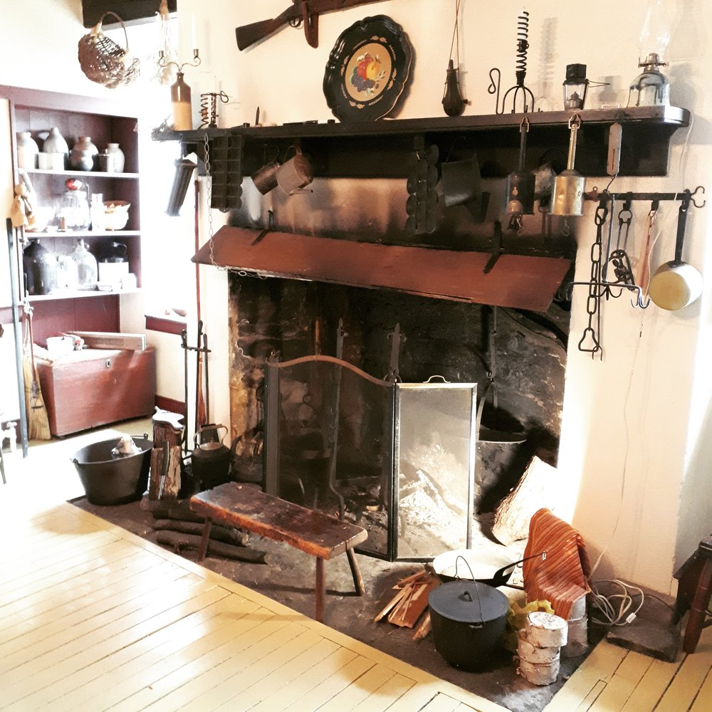 Open Hearth Cooking Workshops at Nelles Manor - I'm very excited to announce my first freelance historic cooking classes at Nelles Manor Museum in Grimsby, Ontario! Sunday September 9, 20181pm or 6pm (both classes SOLD OUT)Tickets are $30http://nellesmanor.ca/Open hearth cookery is how I got my start in historic cooking, but it's been a few years so I'm looking forward to getting back in the saddle again. Expect some blog posts from the kitchen at Nelles Manor as I get to know the hearth and get prepared for these workshops.Step back in time to prepare a simple seasonal autumn meal using recipes from the 19th-century, some of which were written by a Grimsby resident in 1840. You'll try out a variety of hearth-cooking techniques in the museum's original 230-year old open hearth, and you'll also enjoy a tour of the museum, time to sit and enjoy the meal around the harvest table and a booklet of recipes to take home.If you don't know where Grimsby is, it's an adorable town in Southern Ontario's wine country, located between Niagara & Hamilton just off the QEW.
