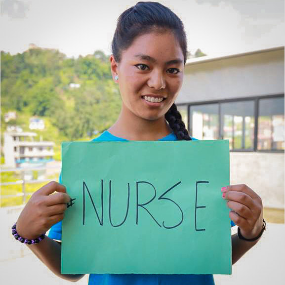 My dream to be a nurse