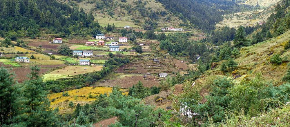 Trekking through this village.jpg