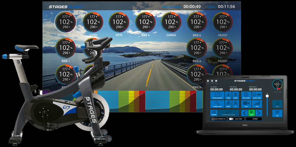Whether your goal is to gain fitness, lose weight, or track metrics, we have you covered. We offer the best-in-class spin bikes and the StagesFlight system to keep you on track toward your goals.                                                                                                                                               (Click anywhere to learn more about StagesFlight).