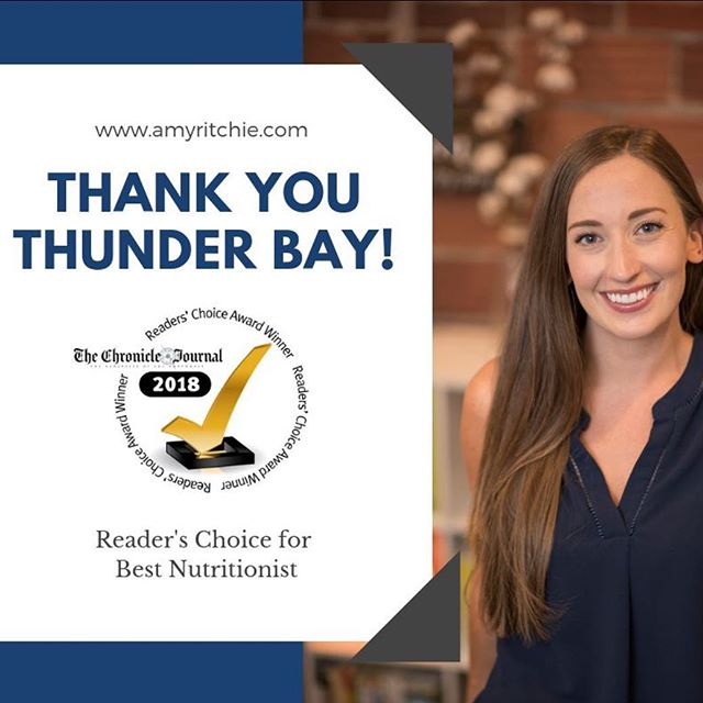 I love my hometown and serving my community ❤️! Thank you so much for your love and support, looking forward to another great year!✨ . . . . . #tbay #thunderbay #nwo #tbaynutrition #thunderbaynutrition #thunderbaynutritionist #tbaynutritionist