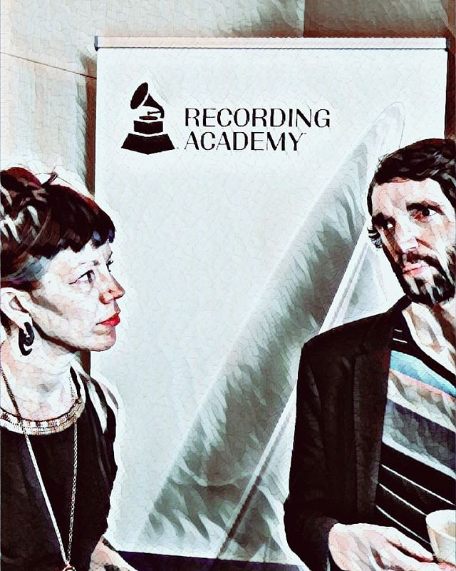 We'd like to thank @timpalmermixer for inviting us to the @recordingacademy luncheon today!  We got to meet some awesome people, learn about badass programs like Music Cares and get things a brewin' for the future. 🖤🖤🖤 #ObsoleteMachines  #OM #TheRecordingAcademy