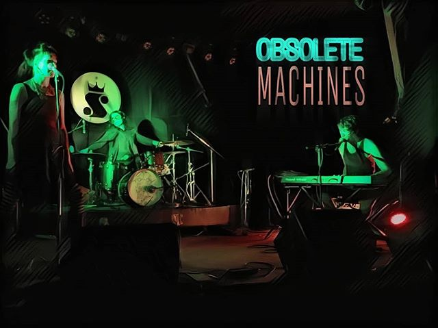 We've got some shows coming up in April...details soon.  New recordings and big gigs cooking up later this year that we can't wait to share with you. 🖤🖤🖤 #Obsoletemachines  #OM #ElectroPop  #Pop #Punk #Austin #ATX #SidewinderATX