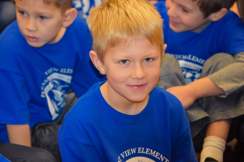 PLEASANT VIEW ELEMENTARY SCHOOL NATIONAL BLUE RIBBON SCHOOL: TOGETHER WE HAVE