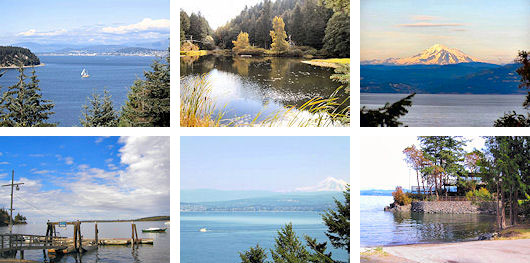 Lummi Island Scenic Estates Lots: