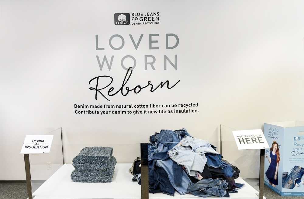 Recycled Denim + Cotton Incorporated Collaboration