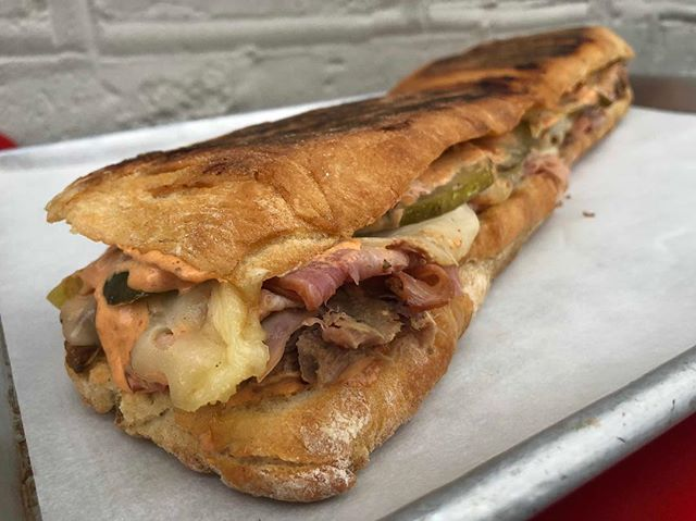 Only a little more than one week left to get your BIG GAME Cubano Hoagie orders in with @honeybutterchi  HBFC's entire catering menu is also available. DO IT. Order online, link in profile.