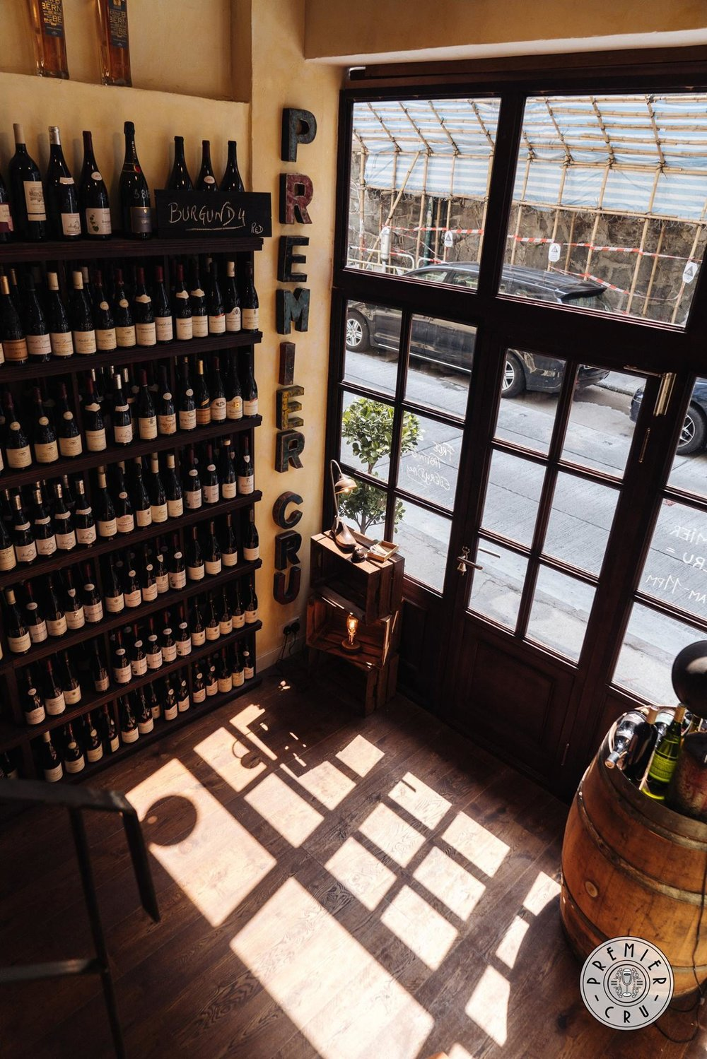 explore our extensive wine library  - OUR WINE LIBRARY
