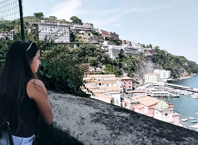 #tbt to those beautiful sights in Sorrento ♥️
