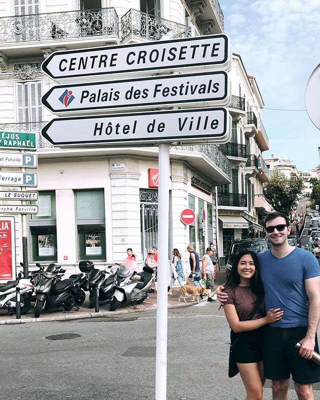 Bonjour! #tbt to the best trip with this cutie 😊