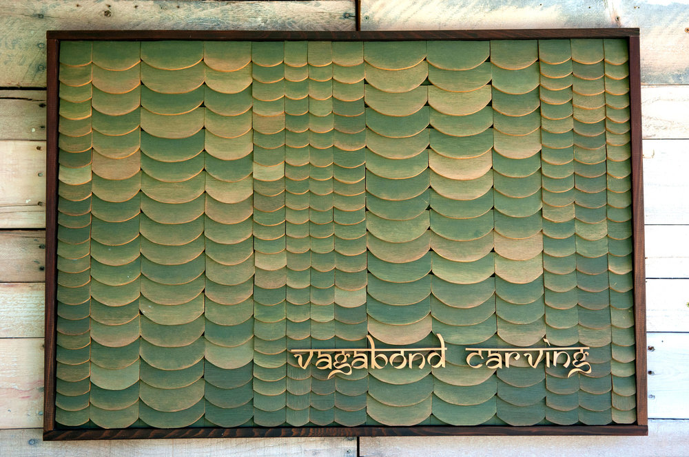 Tiled Vagabond Carving Logo P