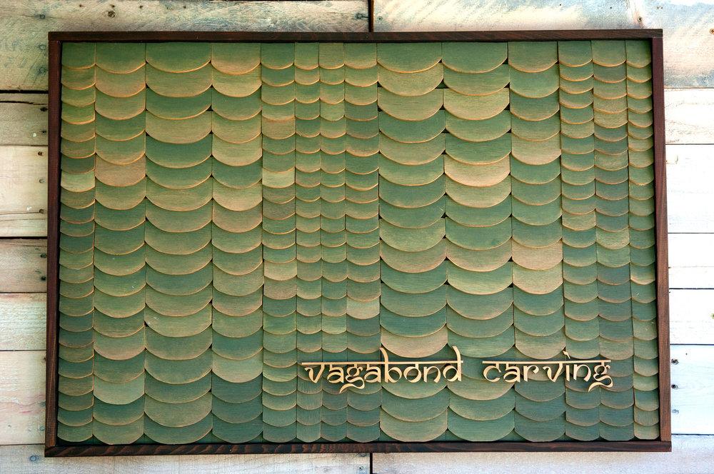 Tiled Vagabond Carving Logo P